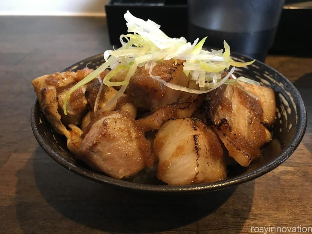 二代目麺処くるり2021年2月 (3)チャーシュー丼