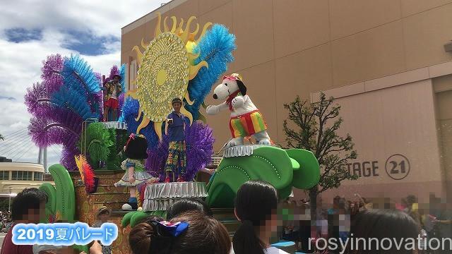 2019夏パレード ウォーターサプライズパレード (2)スヌーピー