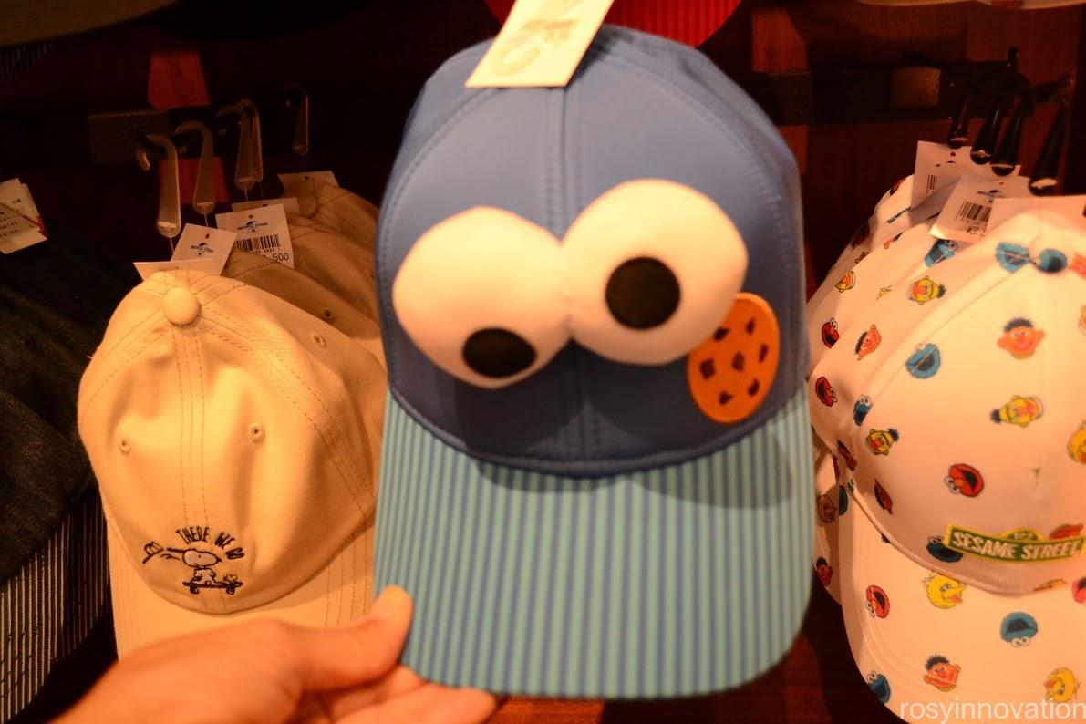 ユニバ帽子キャップ2020夏 クッキーモンスター