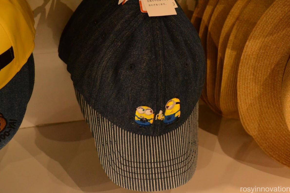 1ユニバ帽子キャップ2020夏 ミニオン デニム
