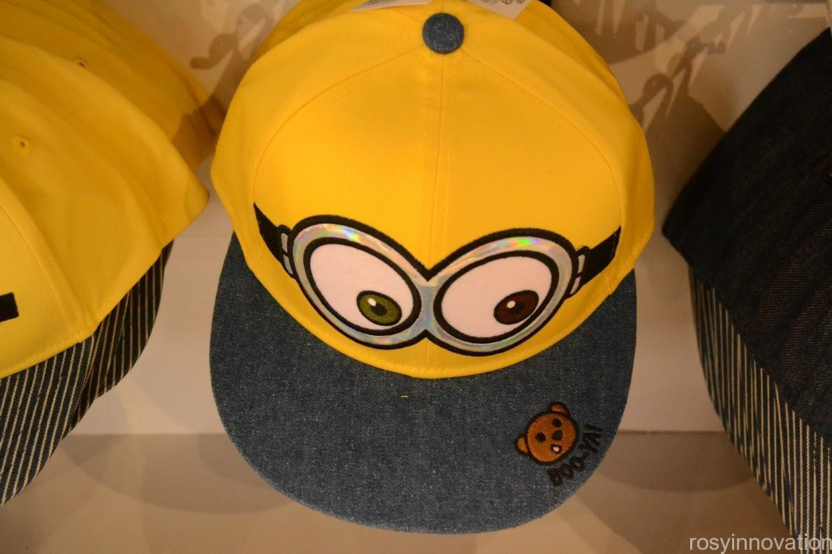 ユニバ帽子キャップ2020夏 ミニオン ボブ