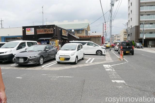 中華蕎麦かたやま中山道店 (1)駐車場