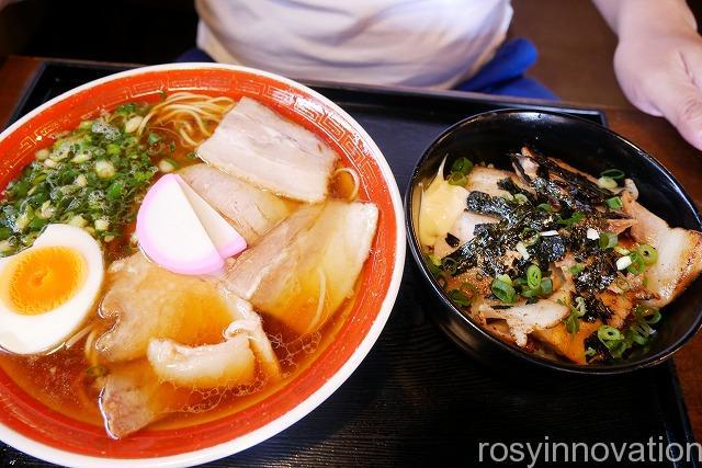 中華蕎麦かたやま中山道店 (3)肉飯
