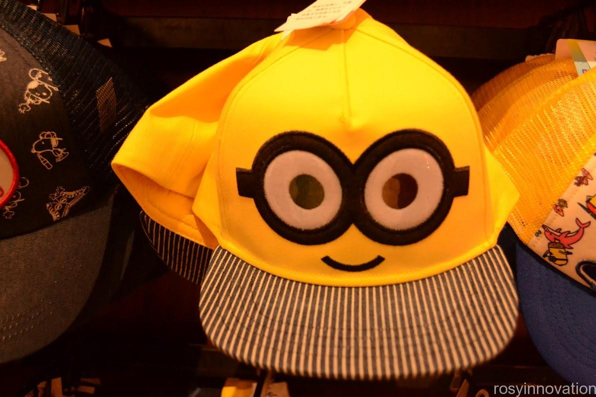 1ユニバ帽子キャップ2020夏 ミニオン