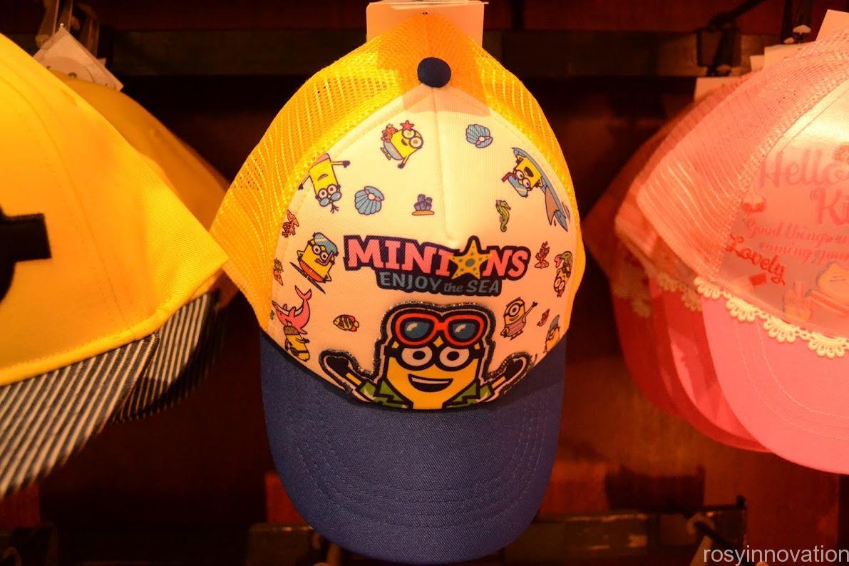 1ユニバ帽子キャップ2020夏 ミニオン 夏仕様