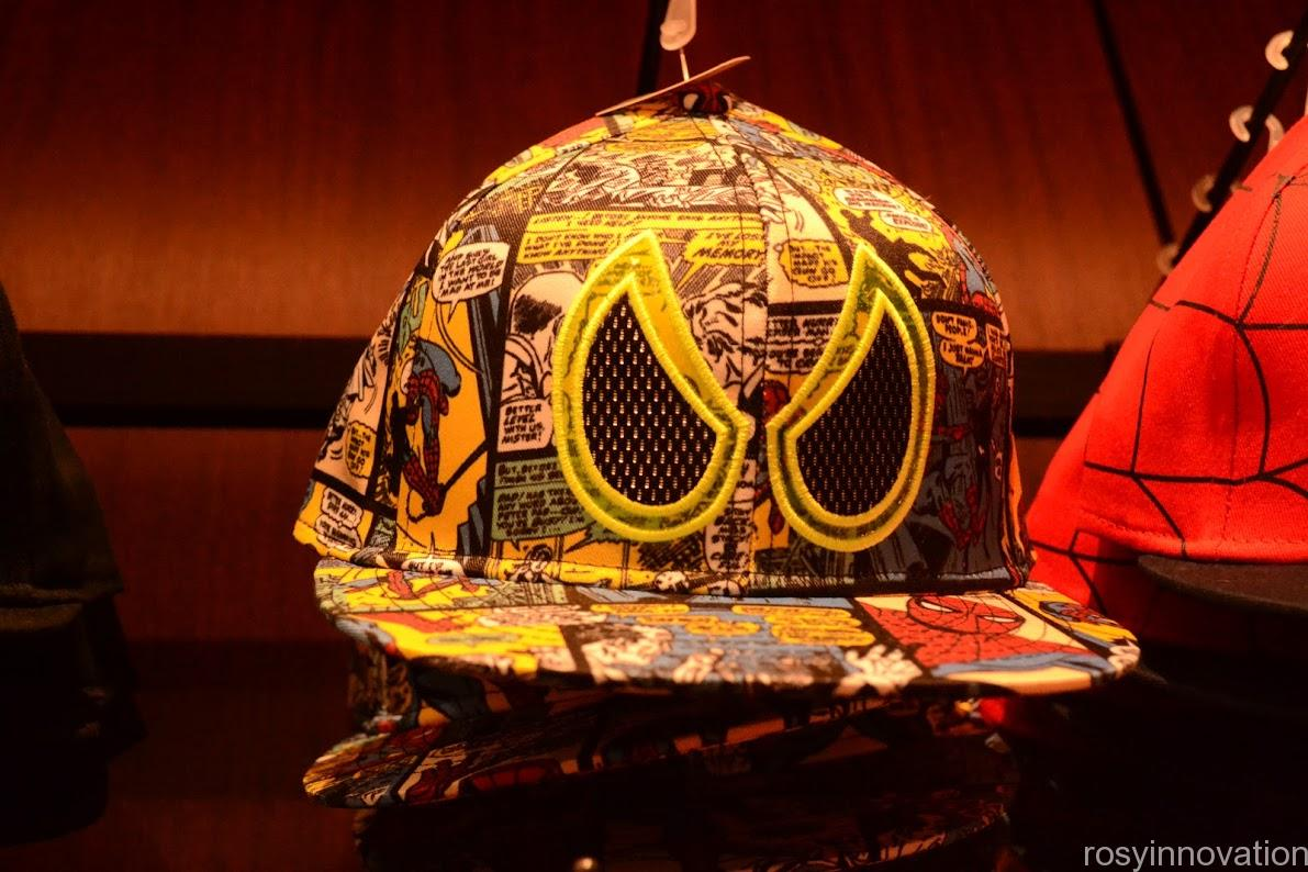 ユニバ帽子キャップ2020夏 スパイダーマン
