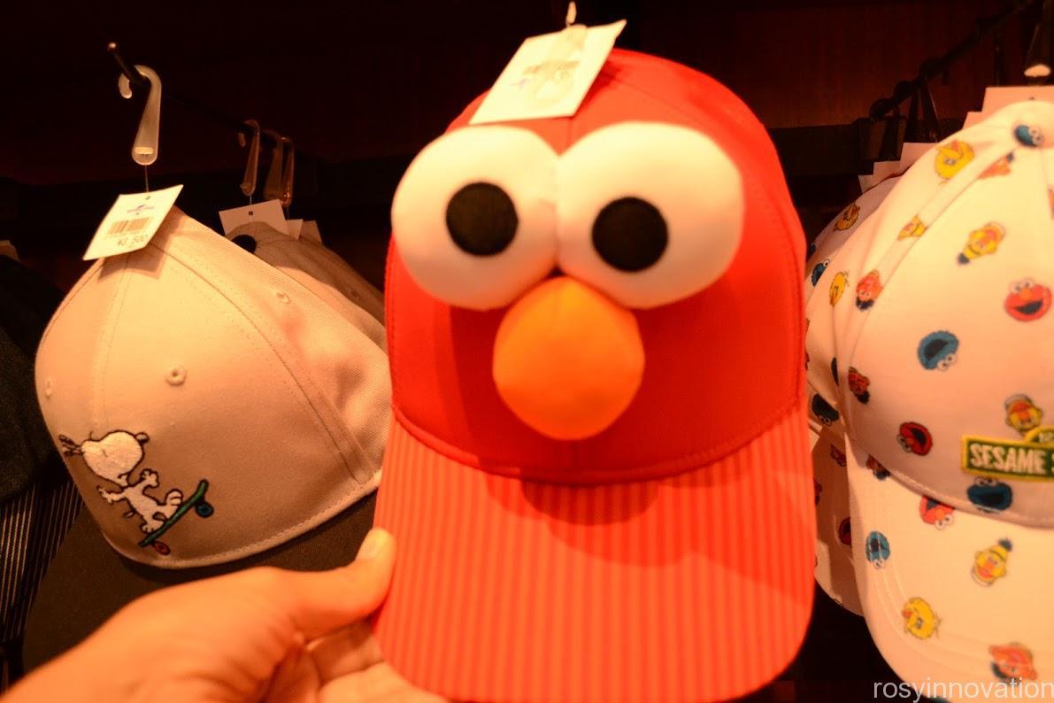 ユニバ帽子キャップ2020夏 エルモ