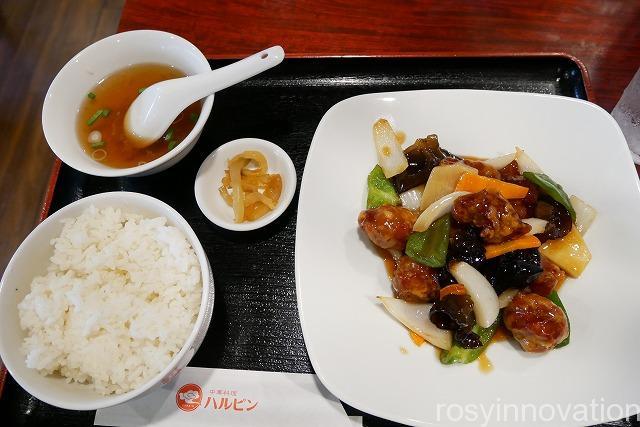 中華料理ハルピン (14)酢豚
