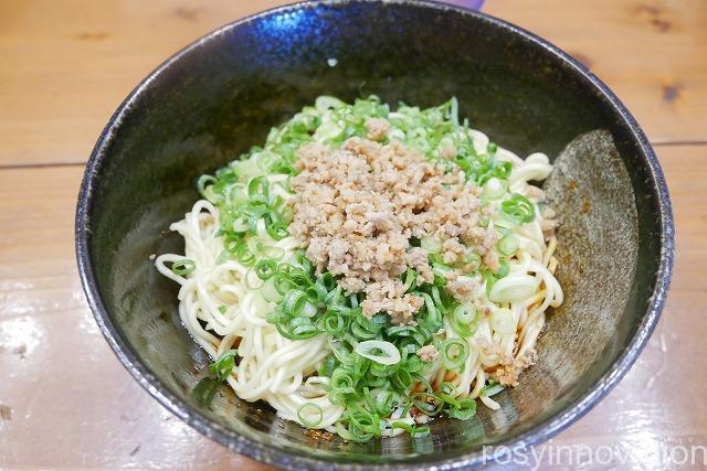 備前汁なし担々麺虎ぼるた田中店 (9)担々麺