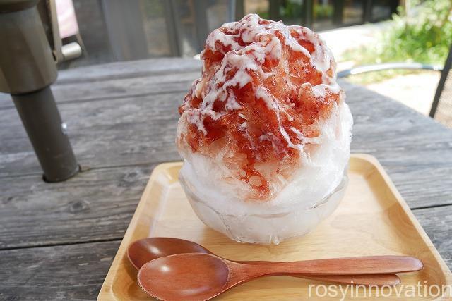 スイーツパーラー十字屋商店 (1)かき氷