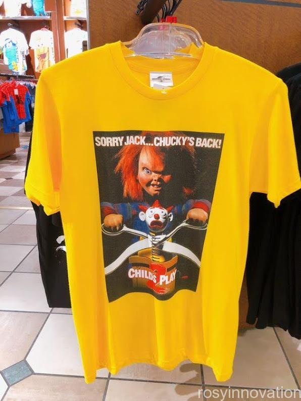 USJ チャッキーグッズ2020 tシャツ黄色