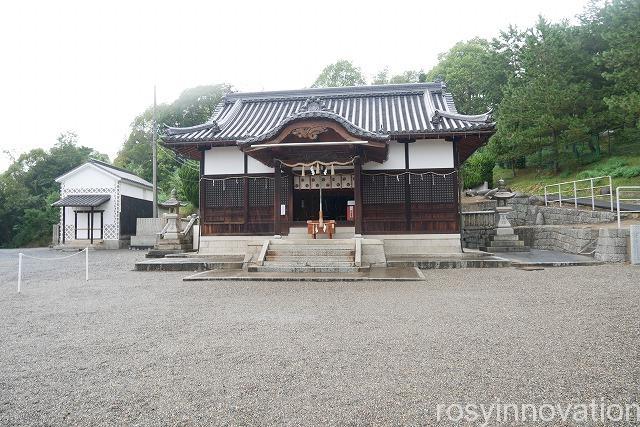戸島神社 (2)拝殿