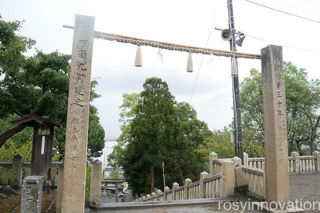 戸島神社 (2)鳥居