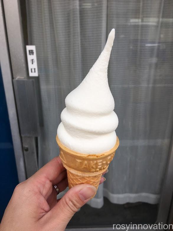 おーいし堂2020年10月大判焼き開始 (1)ソフトクリーム小