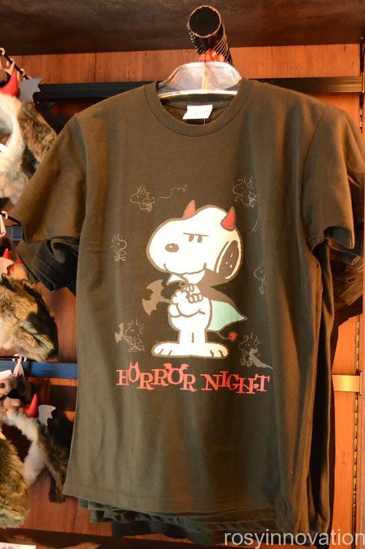aUSJハロウィン2020スヌーピーグッズ Tシャツ