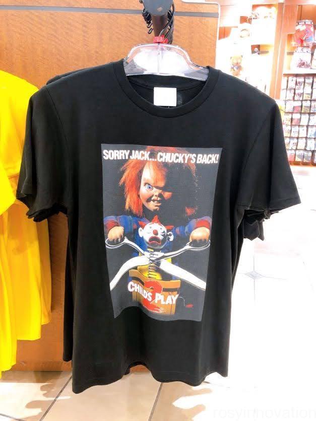 USJ チャッキーグッズ2020 tシャツ黒