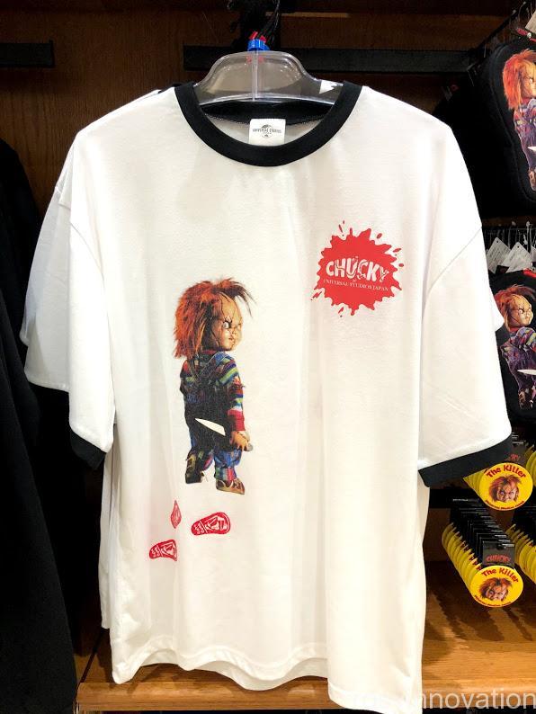 cUSJ チャッキーグッズ2020 Tシャツ白