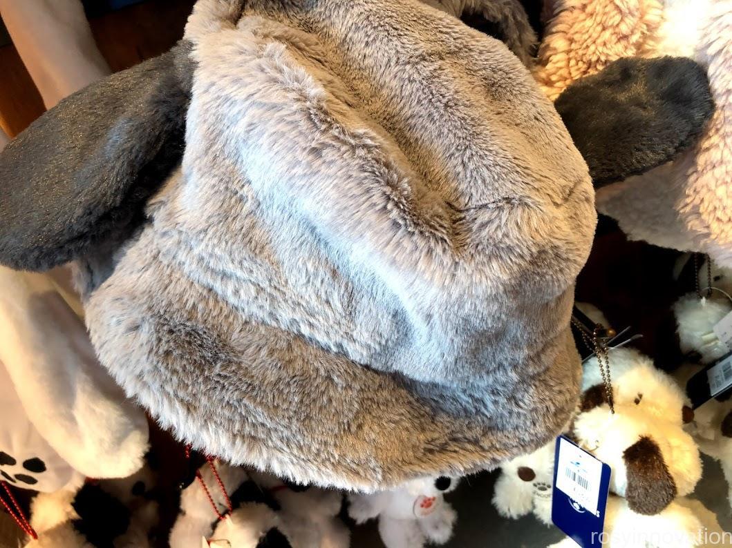 USJ秋冬新作帽子2020 スヌーピーグレー