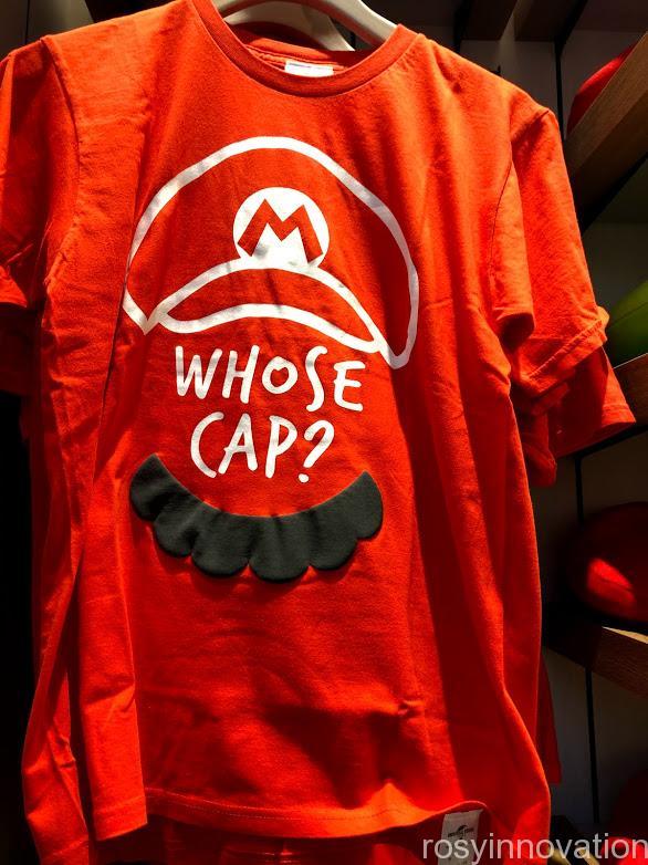xマリオカフェ&ストアグッズ マリオ Tシャツ赤