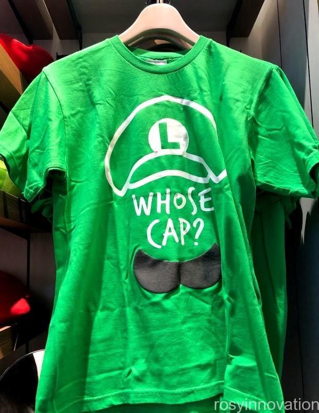 xマリオカフェ&ストアグッズ ルイージ Tシャツ緑