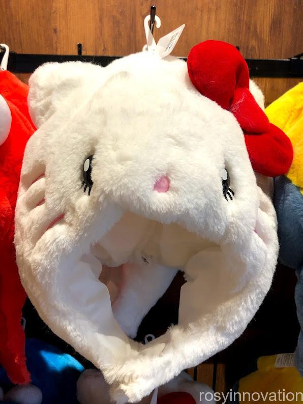 USJ秋冬新作帽子2020 ぬいぐるみハット キティ