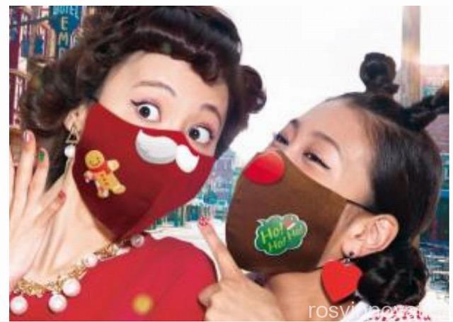USJ クリスマス2020 デコマスク