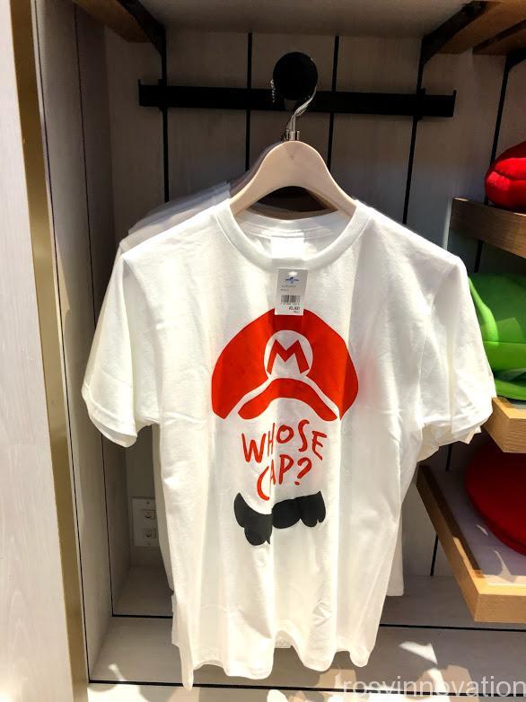 xマリオカフェ&ストアグッズ マリオ Tシャツ 白