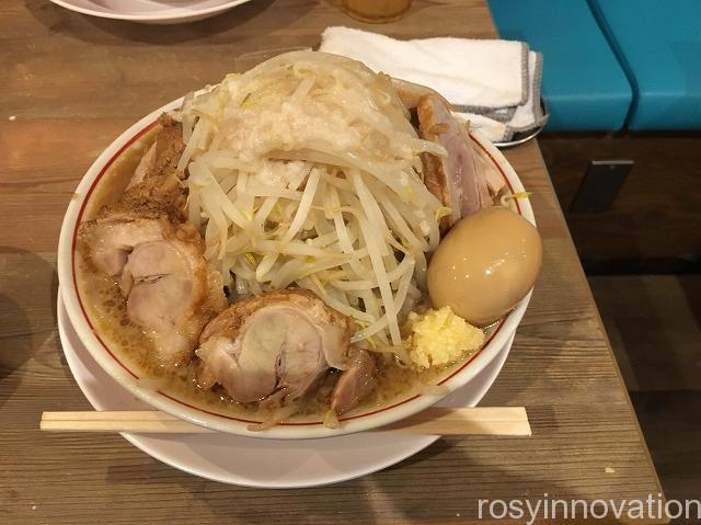 ダントツラーメン倉敷玉島店 (2)野菜3倍豚増し味玉