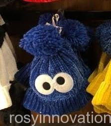 USJ2020 ニット帽 (1)クッキーモンスター