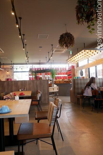 KNOT Tea&Farmkitchen ブランチ北長瀬 (10)内装