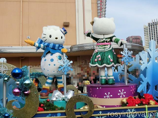 ハッピー・クリスマス・ストリート・パーティ (2) 冬 パレード キティ