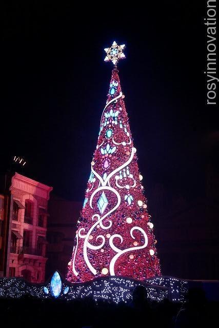1USJ クリスマスツリー2019 (2)