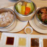 【岡山グルメ】KNOT Tea&Farmkitchen(GOTO券◎)ブランチ北長瀬でセイロ蒸しランチ