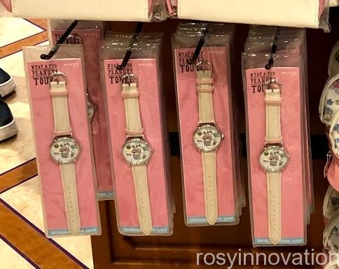 USJスヌーピーグッズ春夏の再販 WHAT A FUN PEANUTS TOUR (46)腕時計