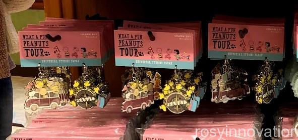 USJスヌーピーグッズ春夏の再販 WHAT A FUN PEANUTS TOUR (44)チャームセット