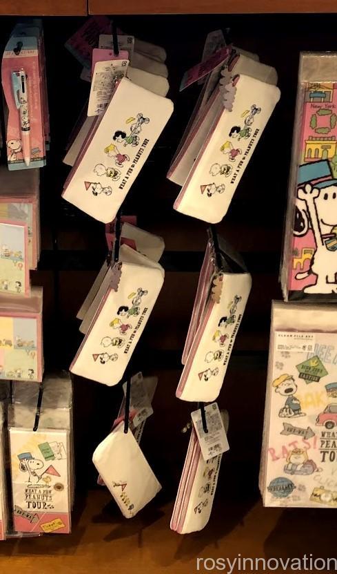 USJスヌーピーグッズ春夏の再販 WHAT A FUN PEANUTS TOUR (9)ペンケース