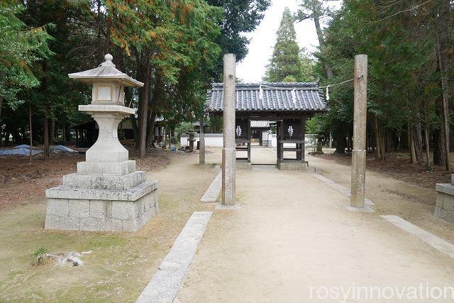 靱負(ゆきえ)神社 (5)住所