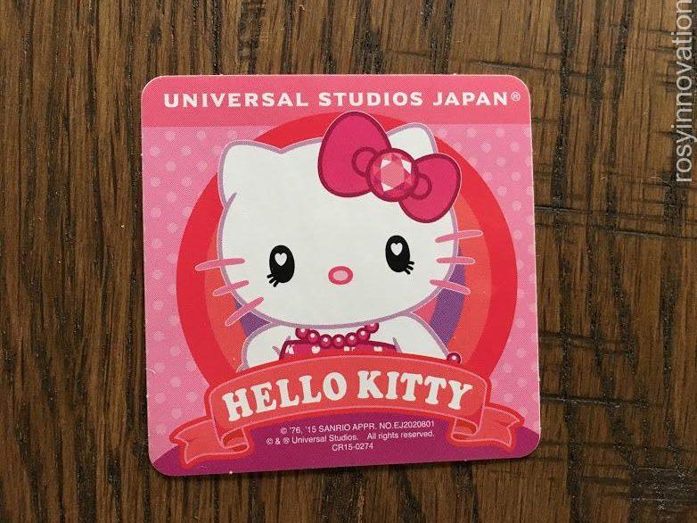 USJシール集め (7)キティ