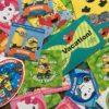 【USJ】ユニバでシール集め♪種類や配布場所ともらい方☆20周年限定シールも