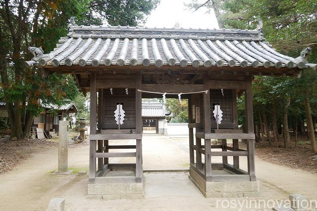 靱負(ゆきえ)神社 (6)長船
