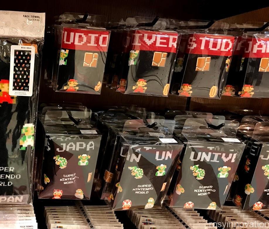USJ新作マリオグッズカリフォルニアコンフェクショナリーファミコン世代 インナー
