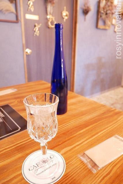 CAFE FILO(カフェフィーロ) (7)グラスもおしゃれ