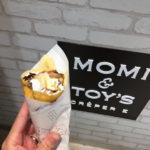 【岡山グルメ】MOMI&TOY'S(モミアンドトイズ)天満屋でとろけるクレープ!