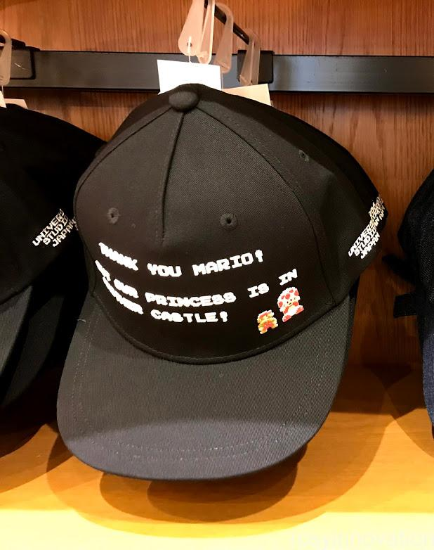 gUSJ新作マリオグッズカリフォルニアコンフェクショナリーファミコン世代 帽子黒