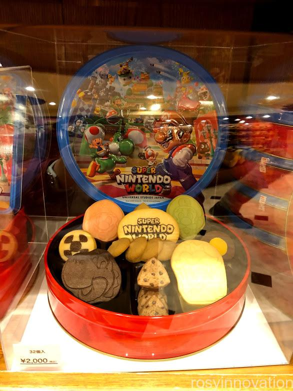 USJワンナップマリオグッズ お菓子クッキー缶
