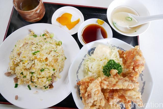 1幸香 (16)唐揚げと焼飯セット
