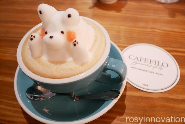 CAFE FILO(カフェフィーロ) (27)3Dラテアート