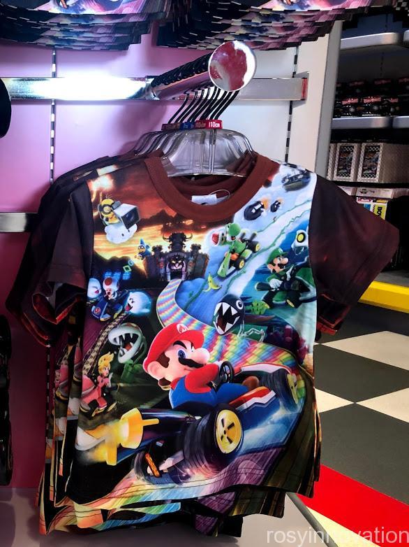 xUSJマリオモーターズグッズ ファッション Tシャツキッズ