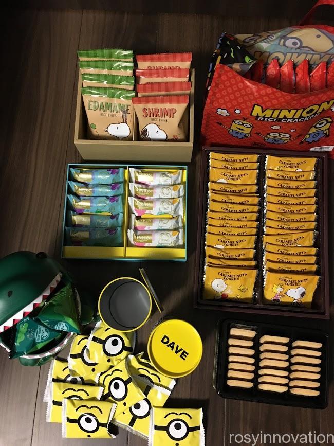 aUSJお菓子詰め合わせセット内容や売り切れ 届いたもの中身