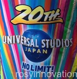 USJ20周年イベント ロゴ